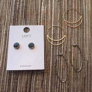 (3) LOFT Earring Bundle